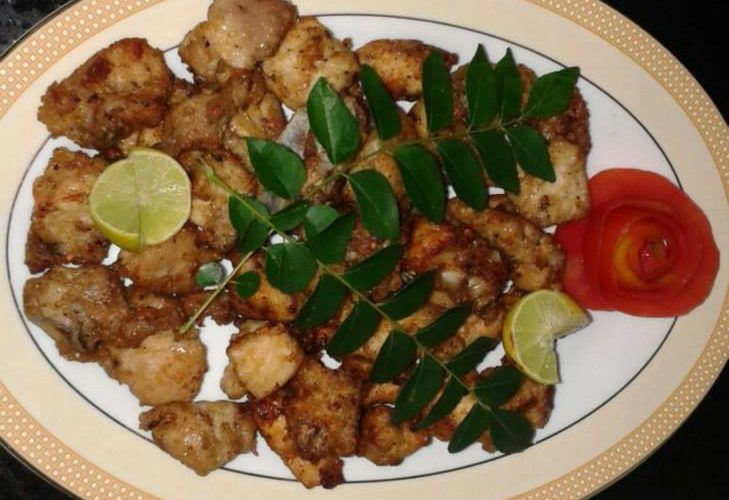 Chicken Curd Fry