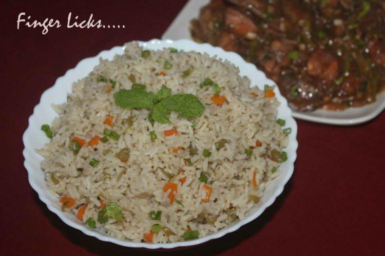 Masala Vegetable Rice