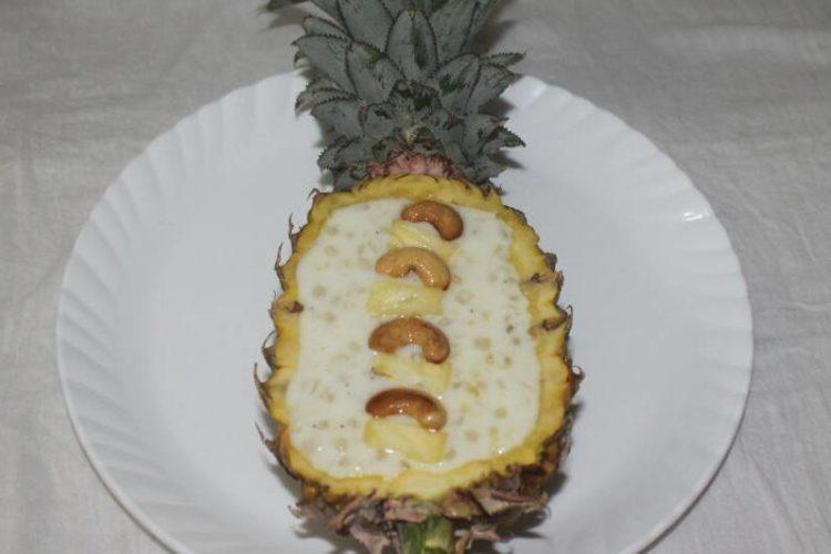 Pineapple Payasam/ Pineapple sago Kheer