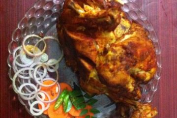 Full chicken fry/Kozhi Nirthi Porichathu/ Whole Chicken Fry