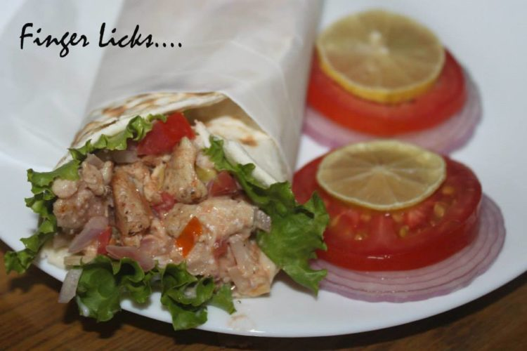 Homemade Chicken Shawarma