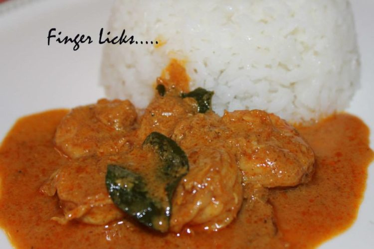 Prawns Curry/ Kerala Style Prawns Curry