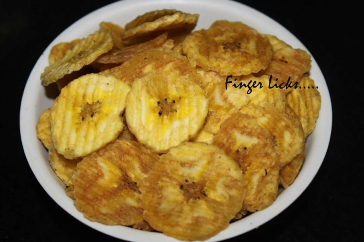 Raw Plantain Chips