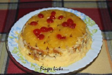 Pineapple Upside Pudding
