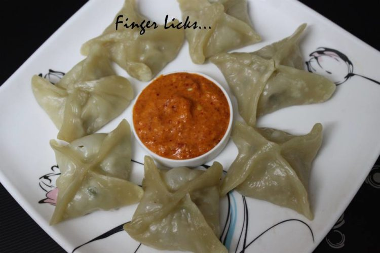 Steamed Chicken Momos/ Chicken Momo