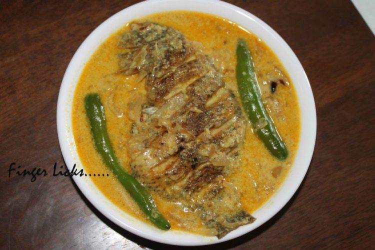 Fish Molly/ Kerala style Fish Molee