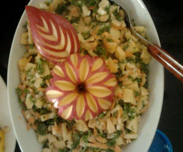 Apple Salad/ Apple Carrot Salad