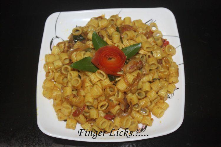 Chicken Pasta/ Malabar Style Chicken Pasta