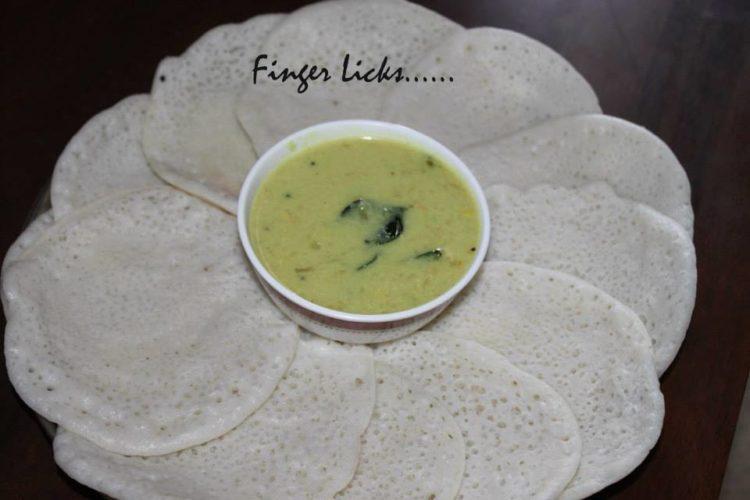 Chowwary Appam/Sabudana Appam