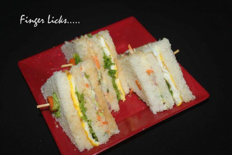Egg Sandwich/ Two Layer Egg Sandwich