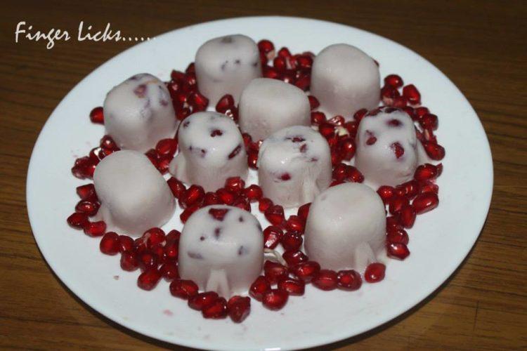 Pomegranate Pudding
