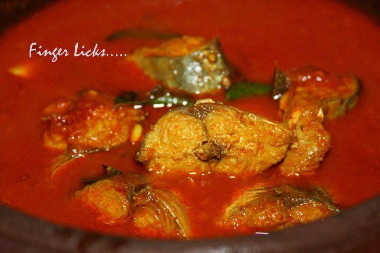 Ayala Mulakittath/ Red Fish curry
