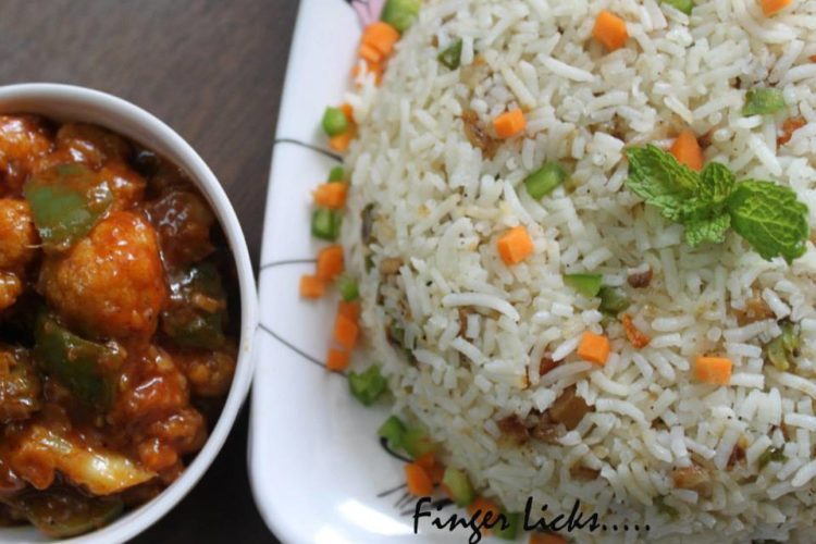 Vegetable Fried Rice/ Mixed Veg Fried Rice