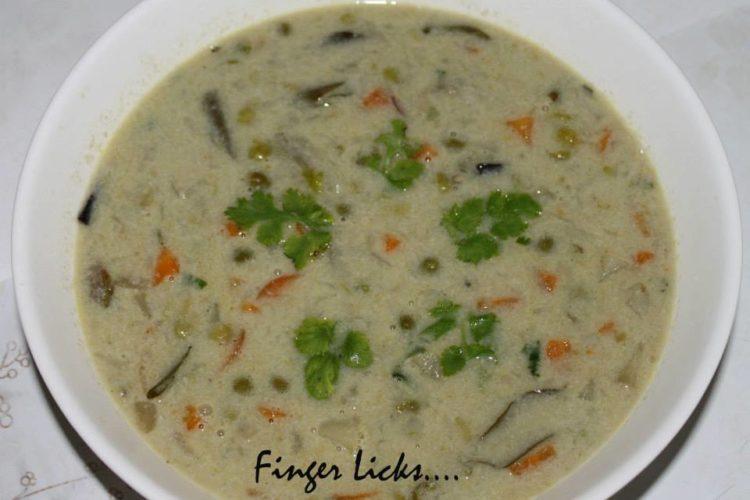 Vegetable Stew/ Vegetable Ishtu