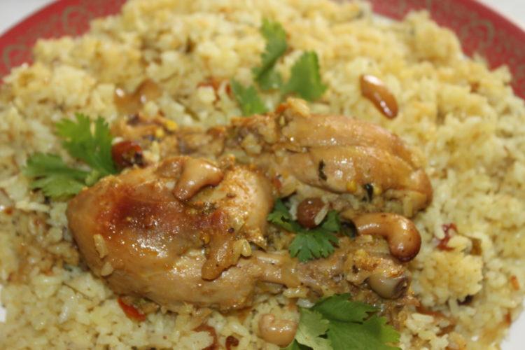 Chicken Biriyani/ Malabar Chicken Dum Biriyani